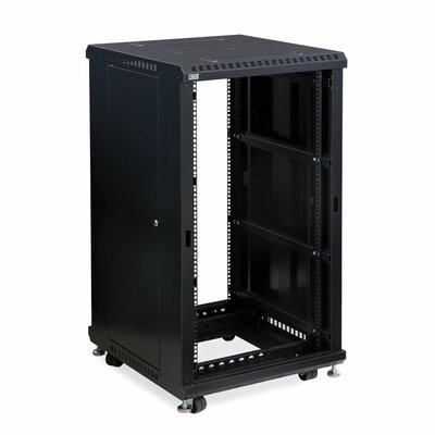 Linier No Doors Open Frame Server Rack Size: 22U