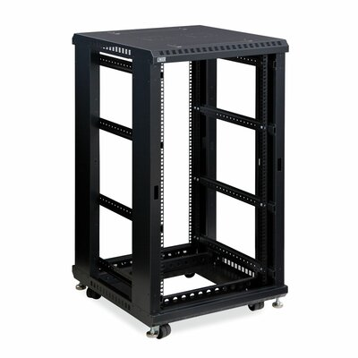 Linier No Doors and Side Panels Open Frame Server Rack Size: 22U