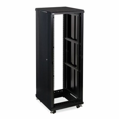 Linier No Doors Open Frame Server Rack Size: 37U