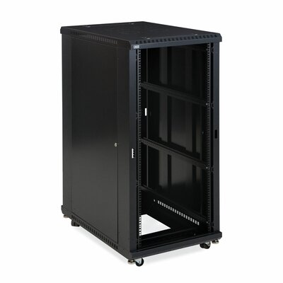 Linier No Doors Open Frame Server Rack Size: 27U