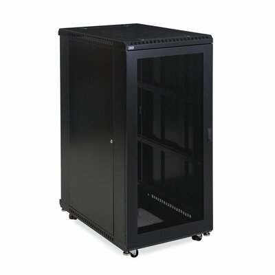 Linier Vented and Vented Doors Server Cabinet Size: 27U