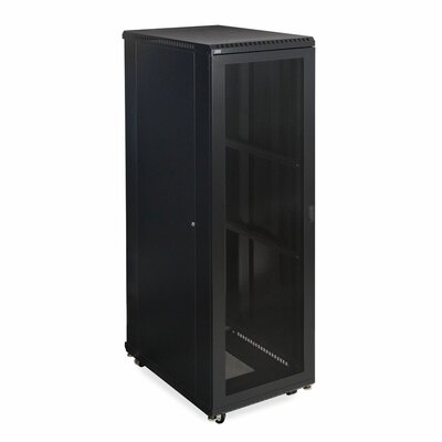 Linier Vented and Vented Doors Server Cabinet Size: 42U