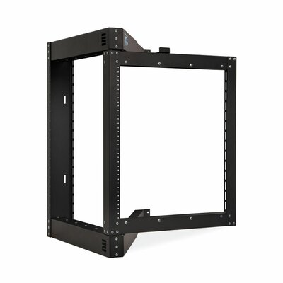Phantom Class Open Frame Swing-Out Rack Size: 12U