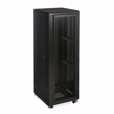 Linier Convex and Vented Doors Server Cabinet Size: 37U