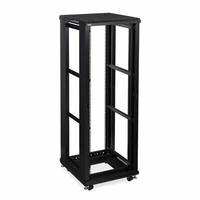 Linier No Doors and Side Panels Open Frame Server Rack Size: 37U