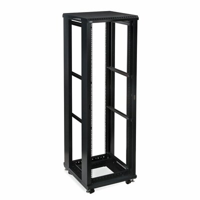 Linier No Doors and Side Panels Open Frame Server Rack Size: 42U