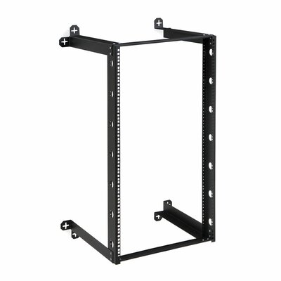 V-Line Wall Mount Rack Size: 21U