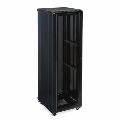 Linier Convex and Vented Doors Server Cabinet Size: 42U