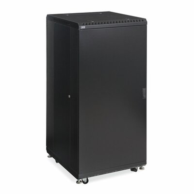 Linier Solid and Convex Doors Server Cabinet Size: 27U