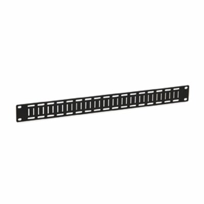 Flat Cable Lacing Panel Size: 1U