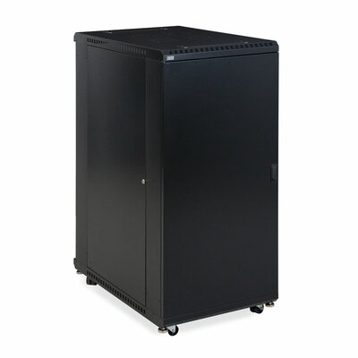 Linier Solid and Solid Doors Server Cabinet Size: 27U