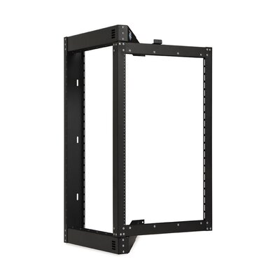 Phantom Class Open Frame Swing-Out Rack Size: 18U