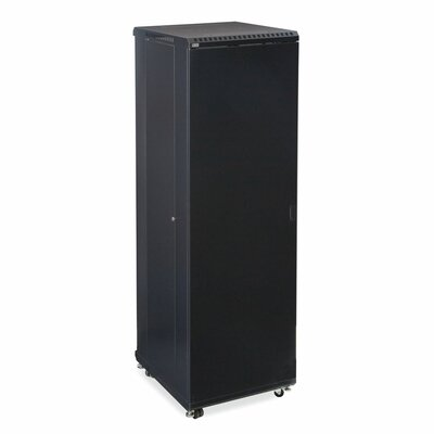 Linier Solid and Solid Doors Server Cabinet Size: 42U