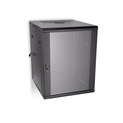 Swing Out Wall Mount Enclosure Rack Spaces: 15U Spaces