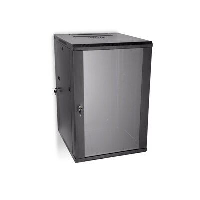 Swing Out Wall Mount Enclosure Rack Spaces: 18U Spaces