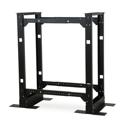 4 Post Adjustable Rack Rack Spaces: 24U