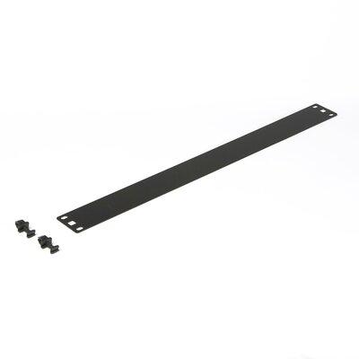 Flat Spacer Blank Size: 1U
