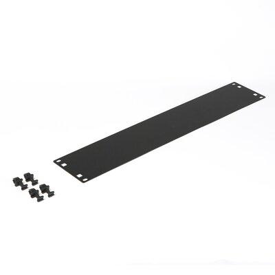 Flat Spacer Blank Size: 2U