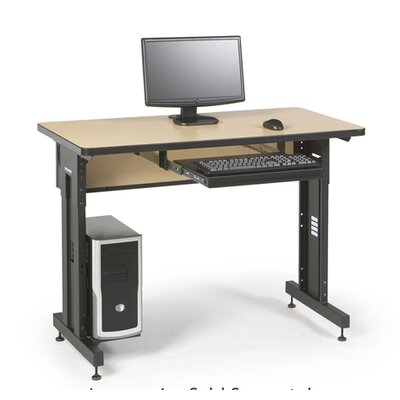 ACTT Height Adjustable Training Table Tabletop Finish: Hard Rock Maple, Size: 28-35 H x 48 W x 24 D