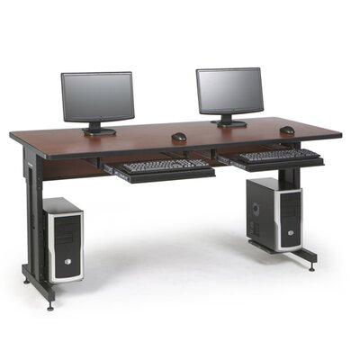 ACTT Height Adjustable Training Table Tabletop Finish: Serene Cherry, Size: 28-35 H x 72 W x 30 D