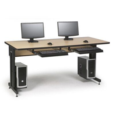 ACTT Training Table Finish: Hard Rock Maple, Size: 28-35 H x 72 W x 30 D Product Image 491