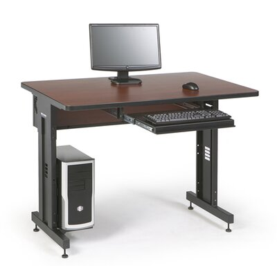 ACTT Height Adjustable Training Table Tabletop Finish: Serene Cherry, Size: 28-35 H x 48 W x 30 D