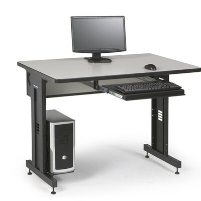 ACTT Height Adjustable Training Table Tabletop Finish: Folkstone, Size: 28-35 H x 48 W x 30 D