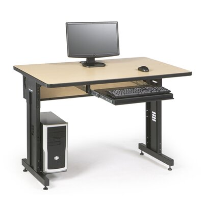 ACTT Height Adjustable Training Table Tabletop Finish: Hard Rock Maple, Size: 28-35 H x 48 W x 30 D