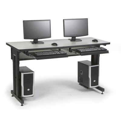 ACTT Height Adjustable Training Table Tabletop Finish: Folkstone, Size: 28-35 H x 60 W x 30 D