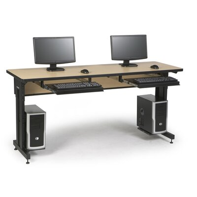 ACTT Height Adjustable Training Table Tabletop Finish: Hard Rock Maple, Size: 28-35 H x 72 W x 24 D