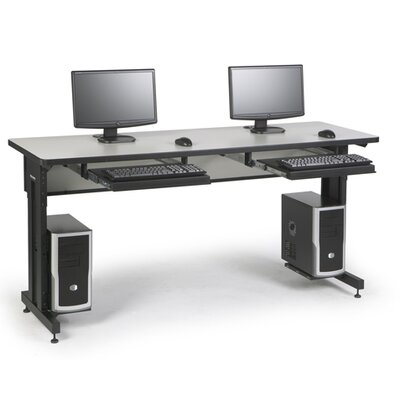 ACTT Height Adjustable Training Table Tabletop Finish: Folkstone, Size: 28-35 H x 72 W x 24 D
