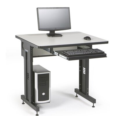 ACTT Height Adjustable Training Table Tabletop Finish: Folkstone, Size: 28-35 H x 36 W x 30 D