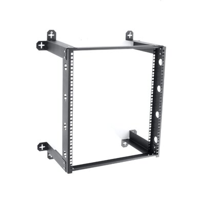 V Line Fixed Wall Mount Rack Rack Spaces: 12U