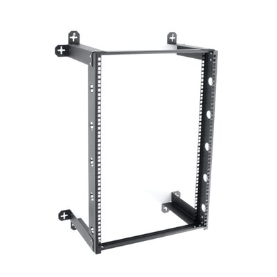 V Line Fixed Wall Mount Rack Rack Spaces: 16U