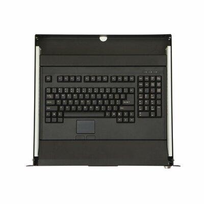 1U Rackmount 2-Post Keyboard Tray