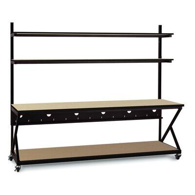 Kendall Howard Performance 200 Series LAN Station / Work Bench - Size: 74
