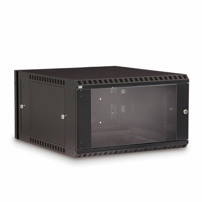 Swing Out Wall Mount Enclosure Rack Spaces: 6U Spaces