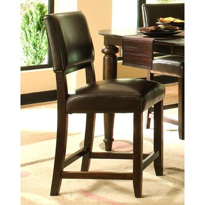 Cheap Kincaid Somerset Leather Side Chair in Dark Espresso (Set of 2) (KCD1337)