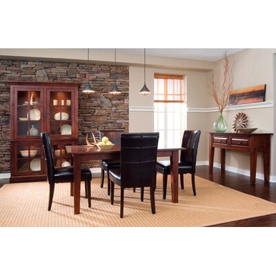 Kincaid Somerset 7 Piece Dining Room Set In Dark Espresso KCD1502 Dining