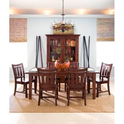 kincaid somerset 7 piece dining room set in dark espresso