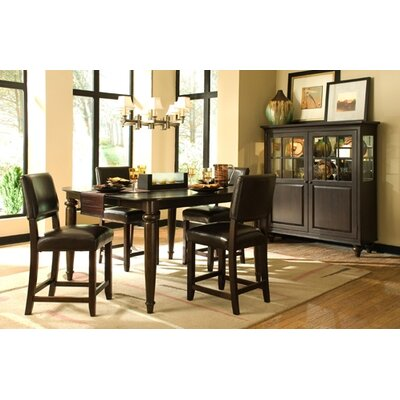 Image of Kincaid Somerset 9 Piece Tall Counter Height Dining Table Set (KCD1503)