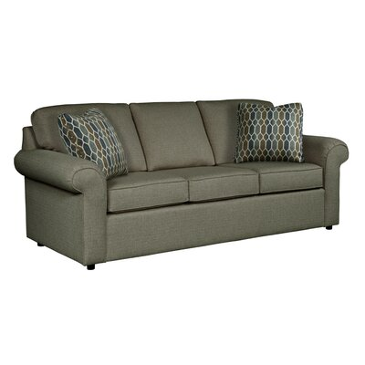 Bulfinch Sofa Body Fabric: Grande Steel, Pillow Fabric: Stella Navy