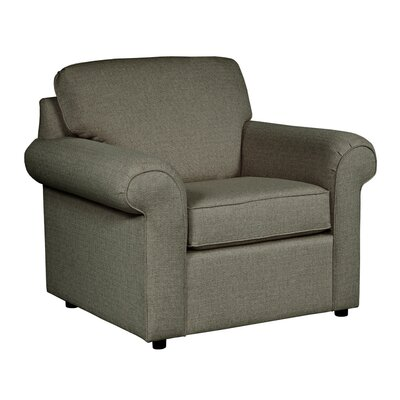 Bulfinch Arm Chair Body Fabric: Grande Steel