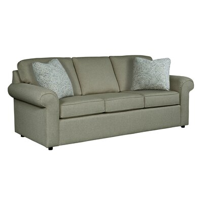 Bulfinch Sofa Body Fabric: Grande Pewter, Pillow Fabric: Stella Navy