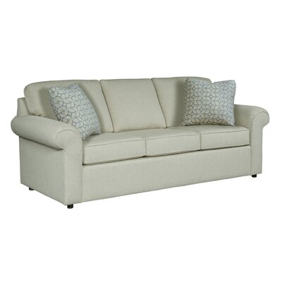 Bulfinch Sofa Body Fabric: Grande Linen, Pillow Fabric: Kingdom Navy