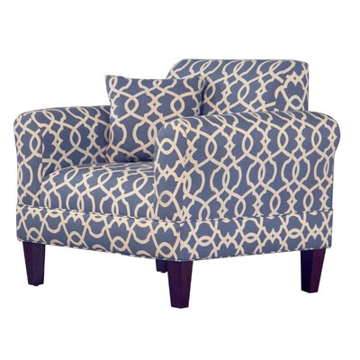Briley Arm Chair Upholstery: Yacht