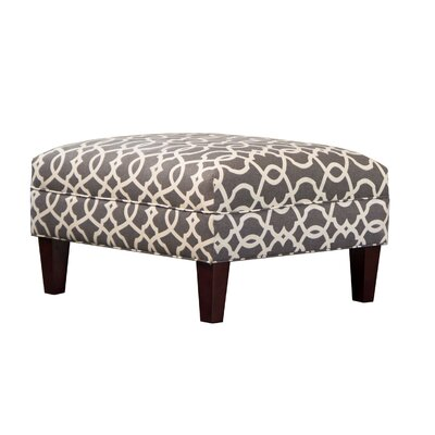 Briley Ottoman Upholstery: Emory Pewter