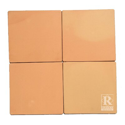 12 x 12 Terra Cotta Field Tile (Set of 10)