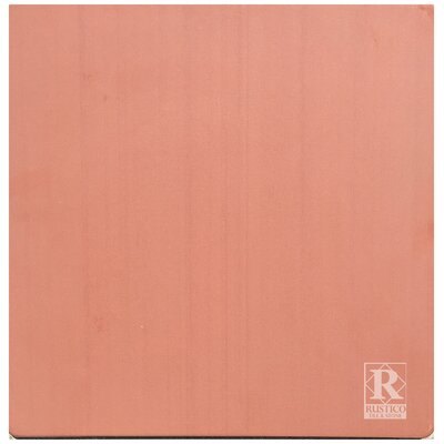 12 x 12 Terra Cotta Field Tile in Red (Set of 10)