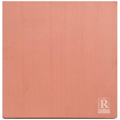 12 x 12 Terra Cotta Field Tile in Red (Set of 10)